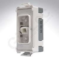 Schneider Ultimate Grid 20Amp Double Pole switch White LV0701.1180