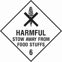 Dangerous Substances Sign DANG0012-0297
