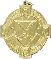 34mm Hurling Medal - Gold
