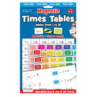 Times Tables Magnetic