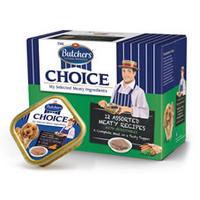 Butchers Foils Choice Traditional Recipes 150g 12pk x 3