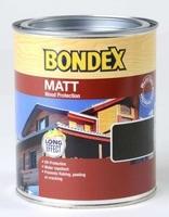 BONDEX WOOD STAIN MATT FINISH WALNUT 750 ML