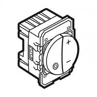 Arteor Touch Dimmer (600W) Round - White  | LV0501.0909