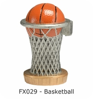 Basketball Flex Figure 75mm (Silver & Gold)