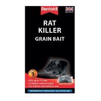 Rentokil Rat Killer Grain Bait - 3x50g Sachet