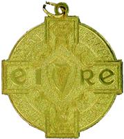 50mm Budget GAA Medal (Gold)