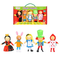 Alice in Wonderland - Finger Puppet Set