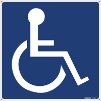 Disabled Logo - Wheelchair Picture