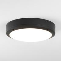 ARTA ROUND 275 TEXTURED BLACK 3000K WALL LIGHT | LV1702.0148