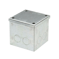 4x4x4 Galv. KO Adaptable Box