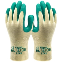 SAFELINE WORK GLOVES GREEN EXTRA LARGE