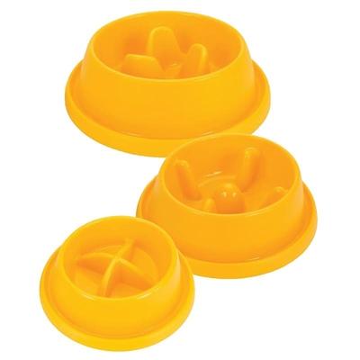 Plastic Slow Feeding Bowl