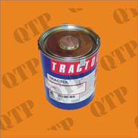 Paint 1 Ltr Industrial Yellow - Tractol