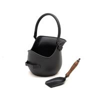 Leecroft Cast Coal Bucket with Shovel