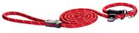 Rogz Rope Red Large Long Moxon Slip Lead 1.8m x 1