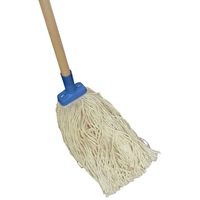 Oats Contractor Mop with Wooden Handle