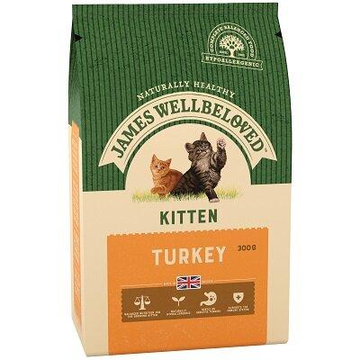 James Wellbeloved Kitten Turkey 300g