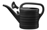 ORTHEX 10LTR PLASTIC WATERING CAN WITH ROSE BLACK
