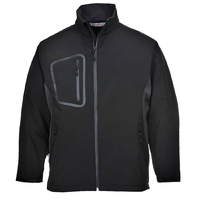 Portwest Duo Softshell Jacket Black