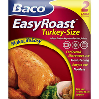 Baco EasyRoast Multi-Purpose Oven Bags 2 Giant