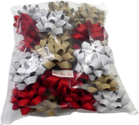 BRILLIANCE A GOLD/RED/SILVER BOWS