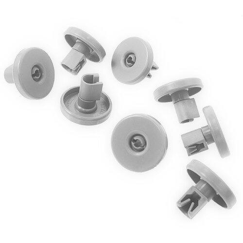 Electrolux Dishwasher Lower Basket Wheel 8 Pack Compatible