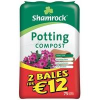 Shamrock Potting Compost 75 Litre
