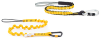 "Python Medium-Duty Hook2Loop Bungee Tether, load rating 15.9 kg (35 lbs), length (relaxed) 78.7 cm (31""), length (stretched) 132.1 cm (52"")"