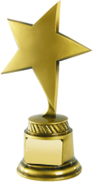 26cm Gold Star Award | TC40