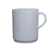 Mug 10oz White Melamine Carton of 12