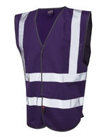 Pilton Single Colour Reflective Waistcoat