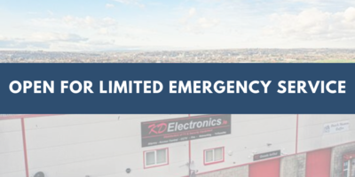 Open for limited emergency service - March 2020