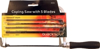 BLACKSPUR COPING SAW WITH 5 BLADES