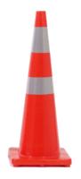 Orange Twin Reflectorised Road Cone 900mm