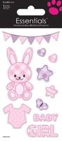 Baby Rabbit Girl Essential Craft Sticker.