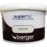 BERGER SUPERFLAT EMULSION PAINT MAGNOLIA 10 LTR