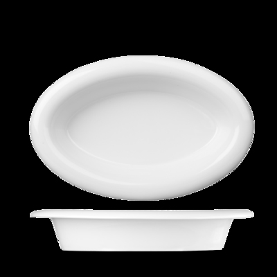 Large Oval Dish 285x185mm 25oz Carton of 6