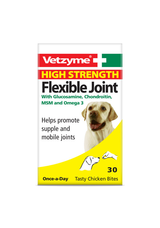 Vetzyme Flex High Strength Joint Tablets 3 x 30