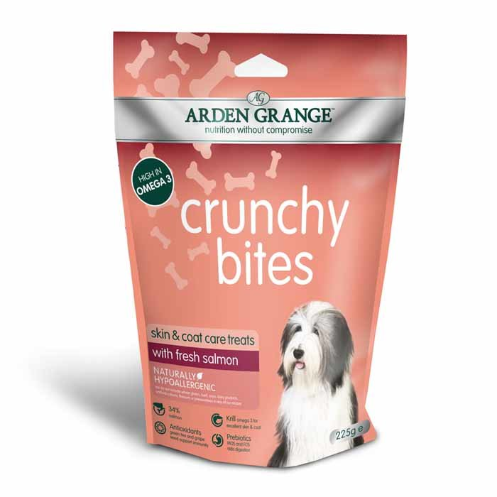 Arden Grange Crunchy Bites – with fresh salmon 225g