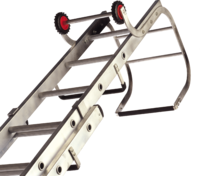 Lyte Trade Roof Ladder Double Section 13+11 Rung