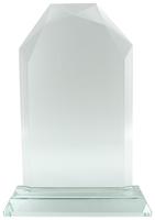 23cm Glass Plaque (Satin Box)