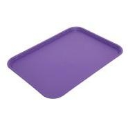 Flat Tray Polypropylene Purple 410 x 300mm