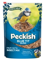Peckish Bird Feed Blue Tit Seed Mix 1kg