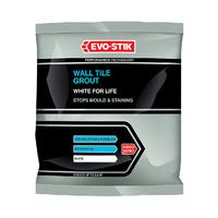 EVO-STIK WALL TILE GROUT WHITE 500 GR