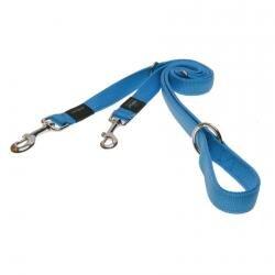 Rogz Utility Turquoise Medium (Snake) Fixed Lead 1.2m x 1