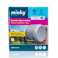 Minky Double Retractable Line 2 x 15m