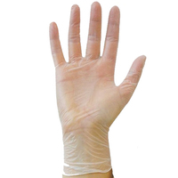 Bodytech Economy Powder Free Vinyl Gloves, Clear