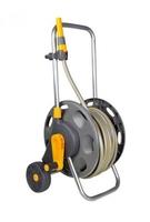 Hozelock Hose Reel Cart, 60m Capacity with 50m Hose & Nozzle