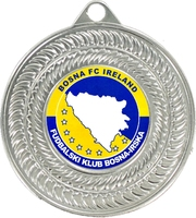 50mm Silver Economy Medal