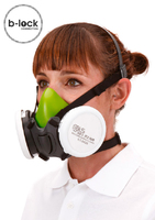 BLS 4000 S B-Lock Half Face Mask